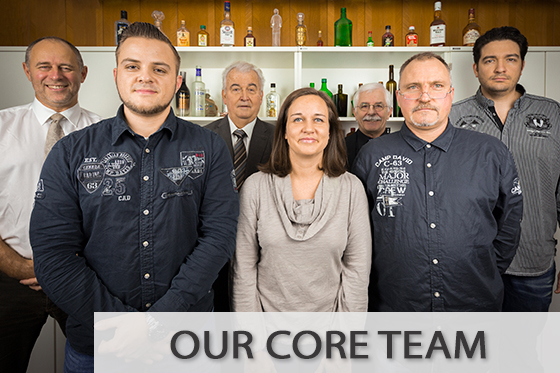 Our core team