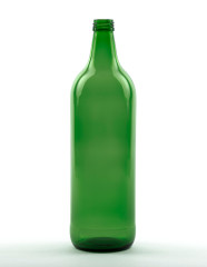 1000 ml Glühwein Bottle 28 MCA 7.5 R green