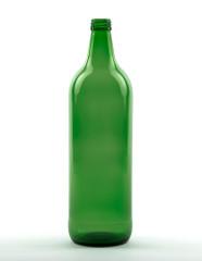 1000 ml Glühweinflasche 28 MCA 7,5 R grün