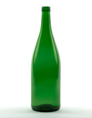 1000 ml Rhine Wine Bottle heavyweight 28 MCA 7.5 R green