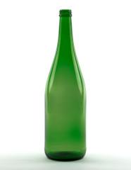1000 ml Rhine Wine Bottle lightweight 28 MCA 7.5 R green