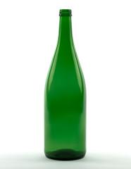 1000 ml Schlegelflasche schwer 28 MCA 7,5 R grün