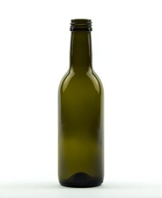 250 ml Bordeauxflasche 28 MCA 7,5 R antikgrün