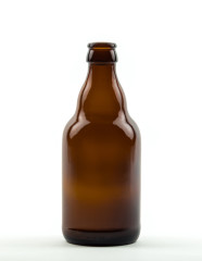 330 ml Steinie CC 26 H 180 amber refillable