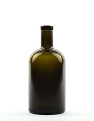 500 ml Apotheker Bottle bartop olive green