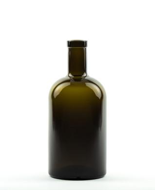 500 ml Apotheker Bottle bartop olive green