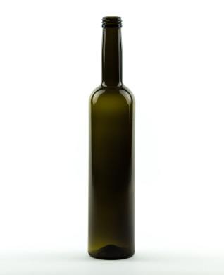 500 ml Bordeauxflasche 28 MCA 7,5 R antikgrün