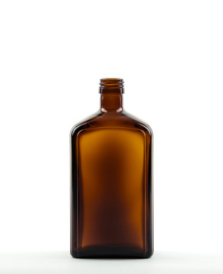 500 ml Syrup Bottle PP 28 S amber