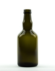 500 ml Whiskey Bottle PP 31.5 S olive green