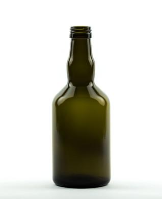 500 ml Whiskey Bottle PP 31.5 S olive green