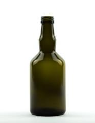 500 ml Whiskyflasche PP 31,5 S antikgrün