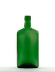 700 ml Amaretto Bottle PP 31.5 deep green
