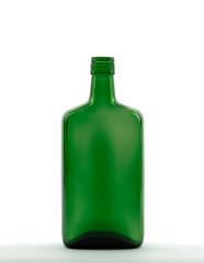 700 ml Amarettoflasche PP 31,5 deep grün