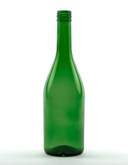 700 ml Brandy Bottle PP 31.5 deep green