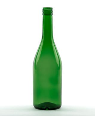 700 ml Brandyflasche PP 31,5 deep grün