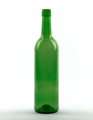 750 ml Bordeauxflasche 308 mm BVS 30 H 60 grün