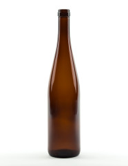 750 ml Rhine Wine Bottle 329 mm cork amber