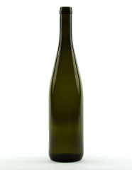750 ml Rhine Wine/Hock Bottle 330 mm cork olive green