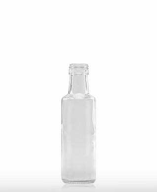 100 ml Dorica-Flasche PP 24 S weiß