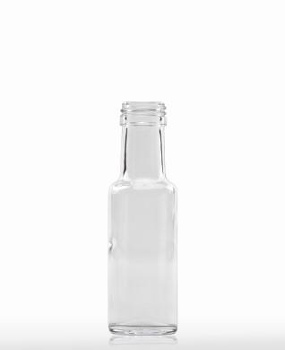 125 ml Dorica-Flasche PP 31 S weiß