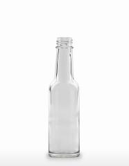 150 ml Saucenflasche GL 25 x 3,5 weiß
