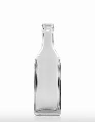 200 ml Kirschwasserflasche PP 28 S weiß