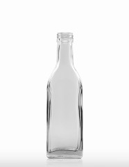 200 ml Kirschwasser Bottle PP 28 S flint