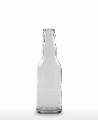 200 ml Kropfhals Bottle CC 26 H 180 flint