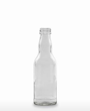 200 ml Kropfhalsflasche 28 MCA 7,5 R weiß