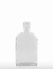200 ml Taschenflasche PP 28 S weiß