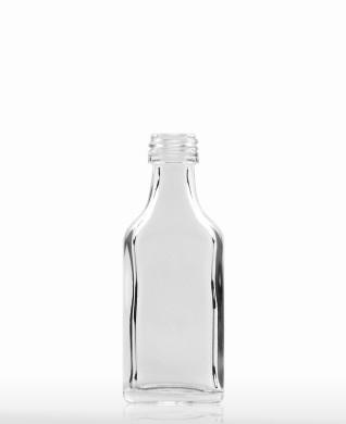 20 ml hohe Taschenflasche PP 18 S weiß