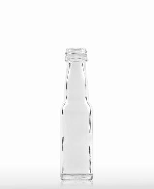 20 ml Kropfhalsflasche PP 18 S weiß