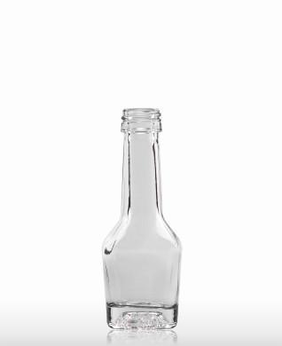 20 ml Napoleonflasche PP 18 S weiß