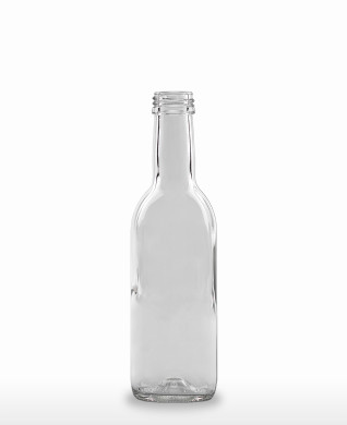 250 ml Bordeauxflasche 28 MCA 7,5 R weiß
