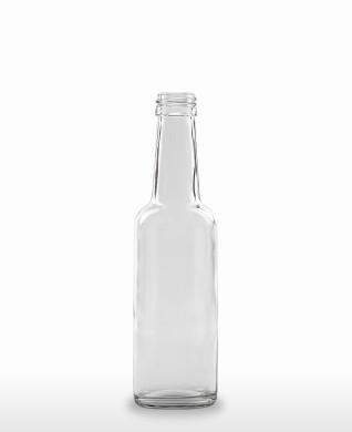 250 ml Gradhalsflasche PP 28 S weiß