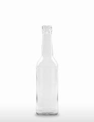 350 ml Gradhalsflasche/Geradhalsflasche PP 28 S weiß