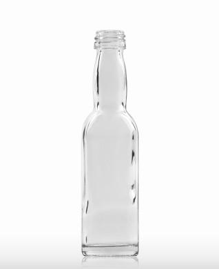 40 ml Kropfhalsflasche PP 18 S weiß