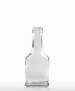 40 ml Napoleonflasche PP 18 S weiß