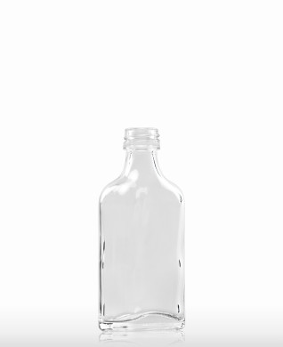 40 ml Taschenflasche PP 18 S weiß