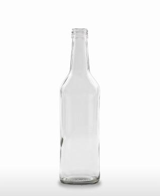 500 ml Wodkaflasche PP 28 S weiß