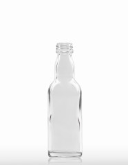50 ml Kropfhals Bottle PP 18 S flint