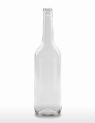 700 ml Gradhalsflasche/Geradhalsflasche PP 28 S weiß
