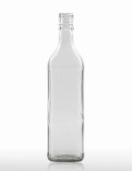 700 ml Vierkant Bottle PP 30 ED flint