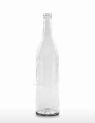700 ml Weinbrandflasche PP 28 S weiß
