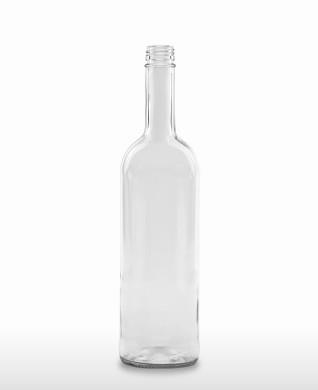 750 ml Bordeaux Bottle 298 mm 28 MCA 7.5 R with transfer ring flint