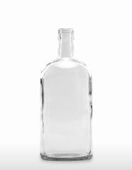 1000 ml Ginflasche PP 31,5 deep weiß