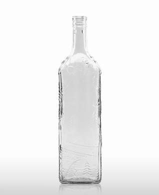 "1000 ml Kirschwasser Bottle ""Schwarzwald"" STC 31.5 H 60 flint"