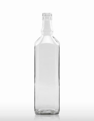 1000 ml Octagon Whiskey Bottle STC 31.5 H 44 flint