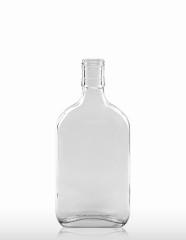 350 ml Taschenflasche PP 30 ED weiß