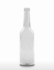 500 ml Gradhalsflasche/Geradhalsflasche PP 28 S weiß
